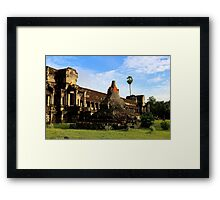 Sunrise on Angkor Wat VII - Angkor, Cambodia. Framed Print