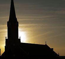 Church Silhouette by gmanchi