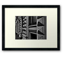 steetside. vienna, austria Framed Print