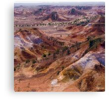 Anna Creek Painted Hills, Outback South Australia Canvas Print
