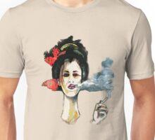 Smoking Geisha Unisex T-Shirt