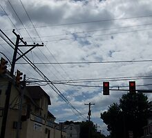 crossed wires at the cross roads by joannadehart