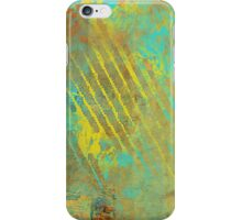 Sunset Sky in Shreds Abstract iPhone Case/Skin