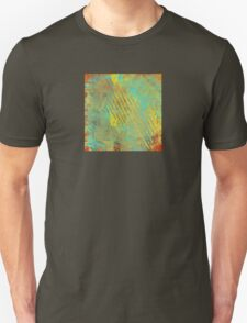 Sunset Sky in Shreds Abstract Unisex T-Shirt