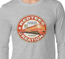 redtees express train Long Sleeve T-Shirt