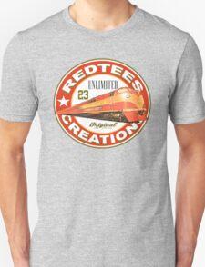 redtees express train Unisex T-Shirt