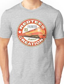 redtees express train Unisex T-Shirt