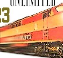 redtees express train Sticker