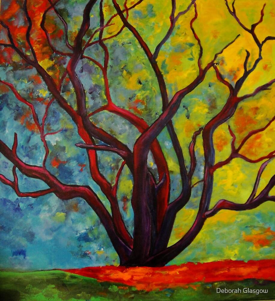 Purple Tree by Deborah Glasgow