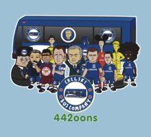 Chelski Bus Company (Team) Kids Clothes