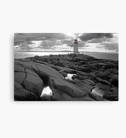 Nova Scotia lighthouse Canvas Print