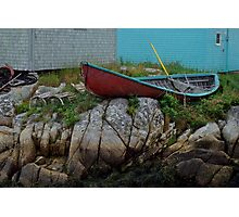 Nova Scotia skiff Photographic Print