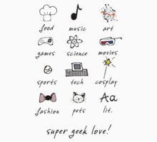 geek love! Kids Tee