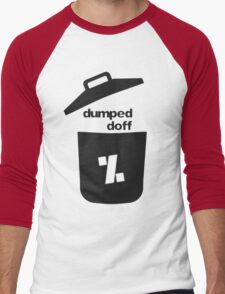 dumped doff Men's Baseball ¾ T-Shirt