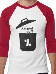dumped doff Men's Baseball ¾ T-Shirt