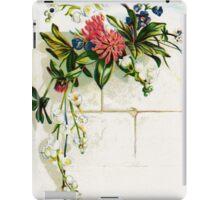 Floral Wall iPad Case/Skin