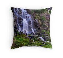 """Falling By The Mill"" Throw Pillow"