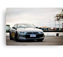Nissan R35 GTR Canvas Print