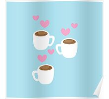 three coffees 2 Poster