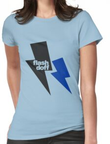 flash doff Womens Fitted T-Shirt
