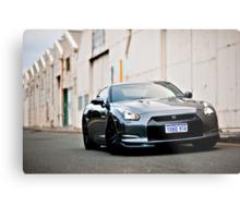 Nissan R35 GTR Metal Print
