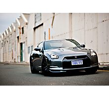 Nissan R35 GTR Photographic Print