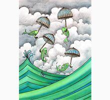 Fish with umbrellas Unisex T-Shirt
