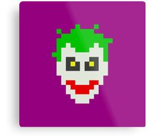 Retro Joker Metal Print