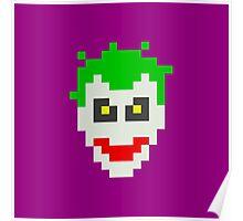 Retro Joker Poster