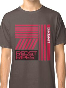 red stripped Classic T-Shirt