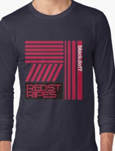 red stripped Long Sleeve T-Shirt