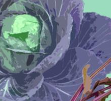 cabbages Sticker