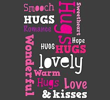 HUGS WONDERFUL SMOOCH Romance all words in a rectangle by jazzydevil