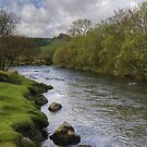 The River Duddon at Ulpha by Jamie  Green