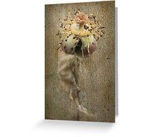 Rust 'n Roses ~ #4 Greeting Card