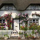 Shepherds' Cottage, Wherwell, Hampshire, southern England by Philip Mitchell