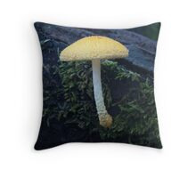 Gold Tuft Throw Pillow