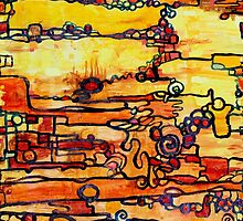 Vacuum Energy textile pattern by Regina Valluzzi