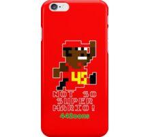 Not So Super Mario iPhone Case/Skin