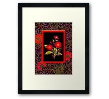 'Flamenco Rose' dance dance dance Framed Print