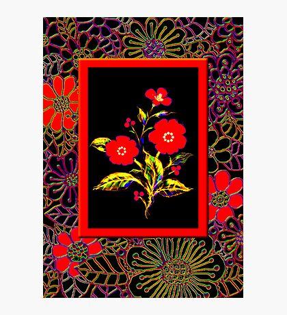 'Flamenco Rose' dance dance dance Photographic Print