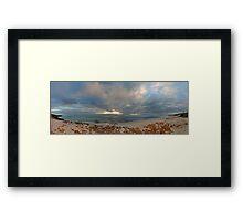 Mettams Pool Beach (Multi Row Panorama)  Framed Print
