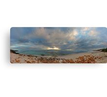 Mettams Pool Beach (Multi Row Panorama)  Canvas Print
