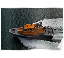 Longhope Lifeboat Poster