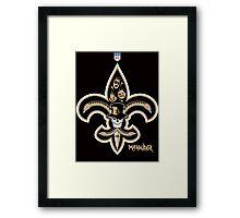 New Orleans Football Framed Print