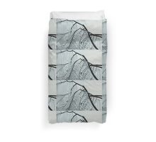 Intricate Ice Curtains Duvet Cover
