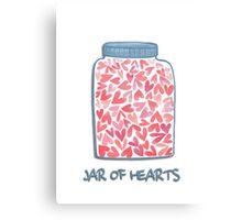 love jar Canvas Print