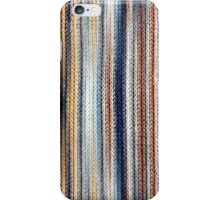 Blue, White, Brown iPhone Case/Skin