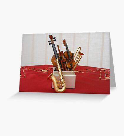 The Music Box Greeting Card
