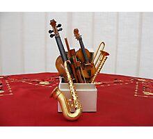 The Music Box Photographic Print